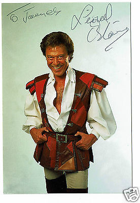 Lionel Blair Dancer Television Presenter Hand Signed Photograph 6 x 4