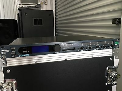 BSS OmniDrive FDS-355 Speaker Processor 2-way or Paired for 5-way Systems