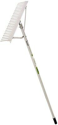 """Ames 30"""" Head Aluminum Landscape Rake with Round Tipped Teeth 61030C"""
