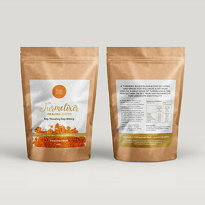 TURMERIC ELIXIR x 2 Packs 50 gm each