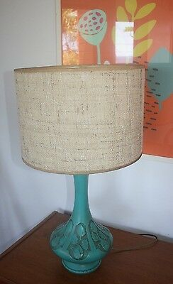 Retro Vintage Pottery Table Lamp