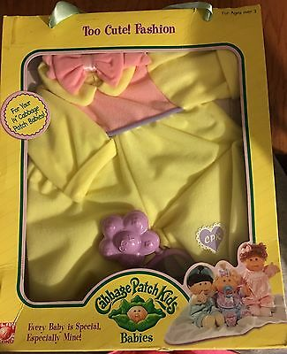 """Cabbage Patch Kids Too cute One piece Outfit NEW IN BOX! ~ Fits 14"""" CPK Dolls"""