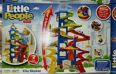 Fisher Price Little People CITY SKYWAY NEW NIB