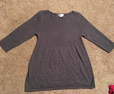 Maternity Size M Old Navy Gray Sweater