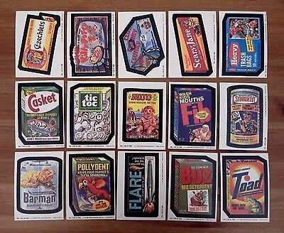 1980 Topps Wacky Packages Series 2 Complete Set 45/66 Beastball Casket Tic Toc +