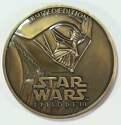 Star Wars Episode III 3 Revenge of the Sith Limited Edition Collector Coin 2005