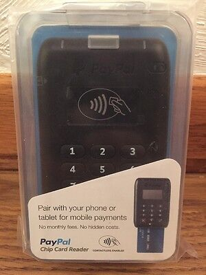 PayPal Here EMV Contactless, Chip and PIN, Swipe, Bluetooth Card Reader NEW