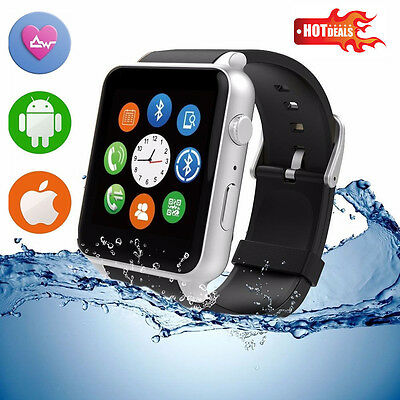 Waterproof GT88 NFC Bluetooth Smart Heart Rate Watch Phone Mate For IOS Android