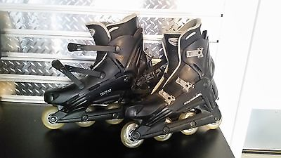 Men's Rollerblades with All Protective pads Accessories