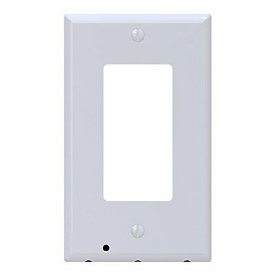 SnapPower SRWH-102 Guidelight Outlet Coverplate with LED Light White Décor NEW