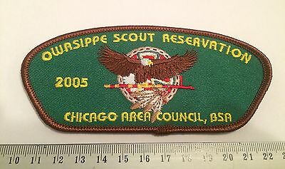 Chicago Area Council Illinois TA48 2005 Owasippe Scout Reservation BSA