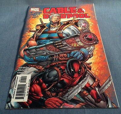 Marvel Comic Book Cable & Deadpool 1 Of Looks Could Kill May 2004