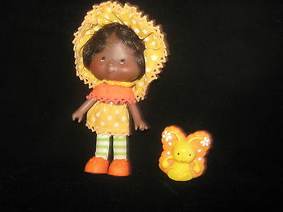 Vintage Strawberry Shortcake Doll Orange Blossom & Marmalade the Butterfly