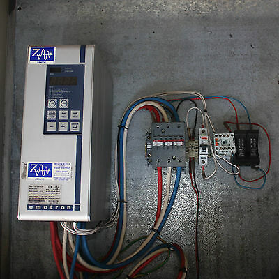 Emotron Soft Starter MSF 060 60A PN: 01-1304-01 in cabinet  ABB switch relay