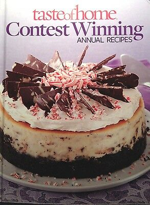 Taste of Home Contest Winning Annual Recipes new hardcover cookbook!