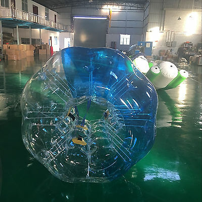 2Pcs 1.5M Body Inflatable Bubble Bumper Zorb Ball Washable TPU Human Outdoor
