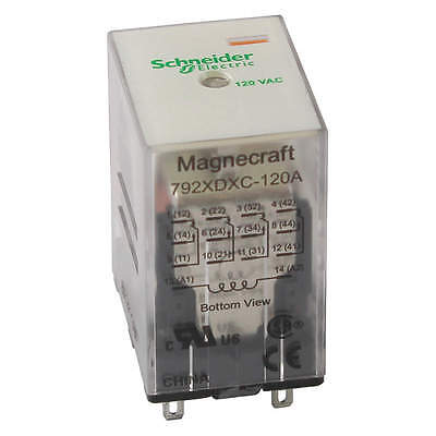 MAGNECRAFT Plug In Relay 792XDXC-120A