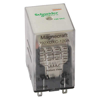 MAGNECRAFT Plug In Relay 792XDX3C-12D
