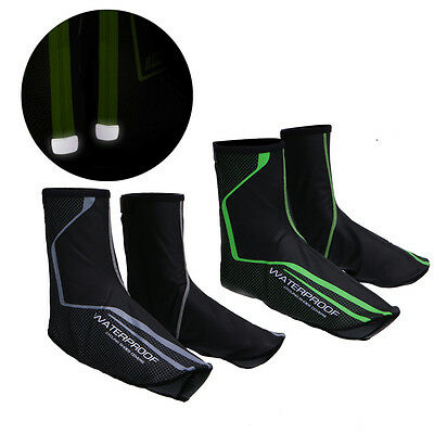 Bike Cycling Shoe Covers Warm Cover Rain Waterproof Protector Overshoes Thermal