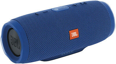 NEW JBL 3284061 Charge 3 Portable Bluetooth Speaker Blue