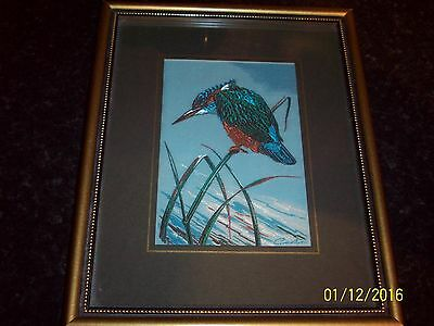 Cash's Collector Range - 7 woven bird pictures