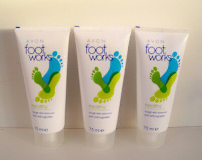 how to use avon foot works rough skin remover