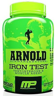 Musclepharm Arnold Series Iron Test 90 Caps Testosterone Increase Booster