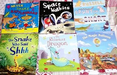 6 kids books collection