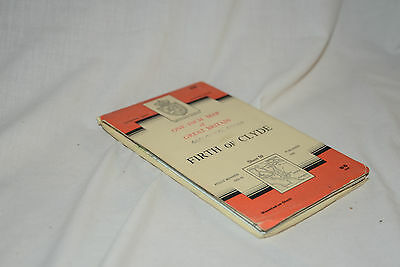 Nice Vintage Ordnance Survey Seventh Series CLOTH Map: FIRTH OF CLYDE, 59