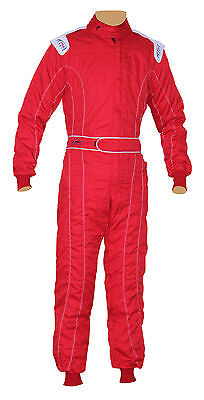 Adult Karting/Race/Rally One Piece Suits Poly Cotton 8 Vivid Colors Free P&P