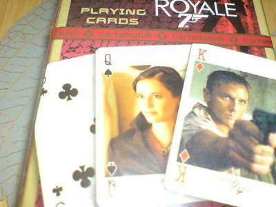 Collectable pack of 007 Casino Royale playing cards sealed