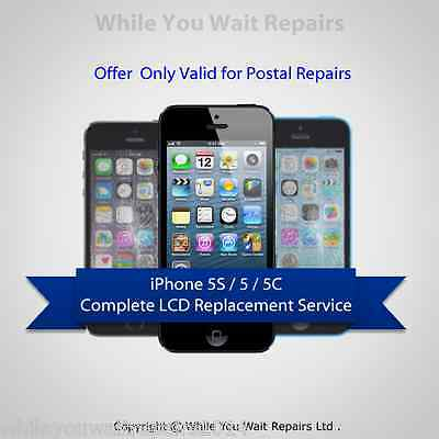 Iphone 5 5S 5C Lcd Digitizer Glass Lcd Screen Repair Replacement Service