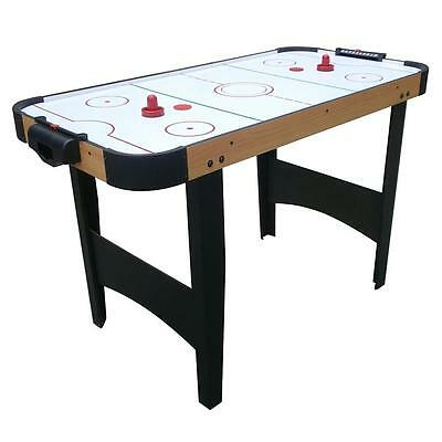 Air Hockey Indoor Gaming Kids Table Sports Ice 2 Pucks Paddles Family Game Child