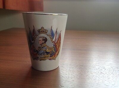 Vintage Cup Commemorating 1937 Coronation Of Hm King Edward Viii