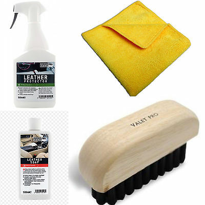 ValetPRO Leather Clean and Protect Kit