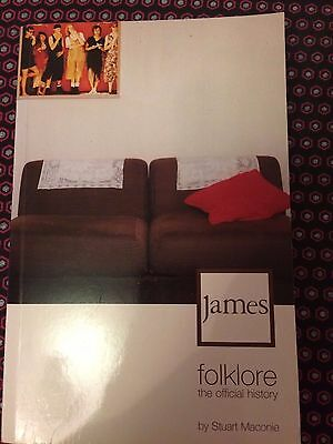 James - Folklore: The Official History by Stuart Maconie 9780753504949