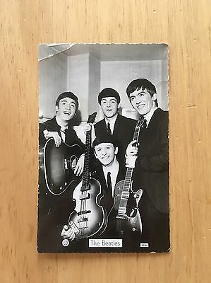 Collectible Promotional Postcard Of The Beatles