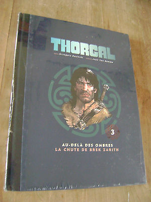 THORGAL - Intégrale - TOME 3 - EO - 2 TITRES + DOSSIER - LUXE - TR.Toilée - NEUF