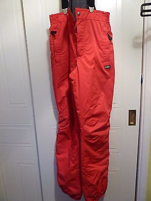 Salopettes - snow trousers (ladies size 10 to 14)