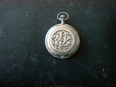 Longines marked Hunter Pocket watch for spares / working order