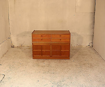 Small Nathan Cabinet, Cupboard, Sideboard, Drawers, Teak, Retro, Lounge, Bedroom