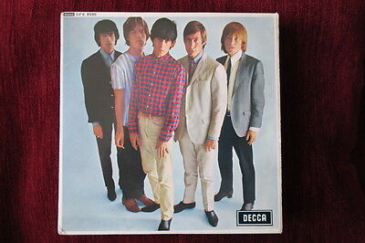 Rolling Stones Five By Five 1970 Uk 5 Track Decca  Reissue Pic Sleeve Vinyl Ex