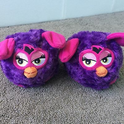 Furby Stompeez Slippers Size Small Age 6-8