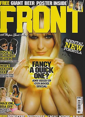 front magazine issue 106 dated june 2007 complete with poster