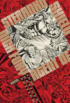 Steranko Nick Fury Agent SHIELD Artist Edition IDW Hardcover SEALED 1st Print