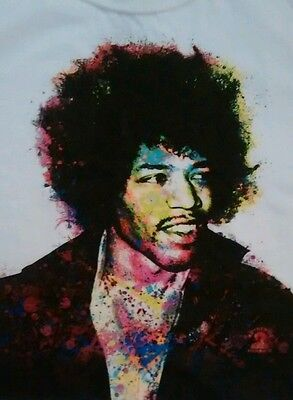 Authentic Jimmy Hendrix licensed tshirt small