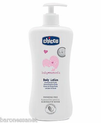 Chicco Baby Moments Body Lotion 500ml For sensitive and delicate skin