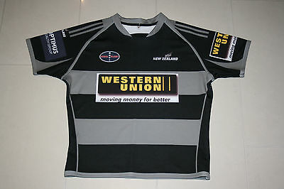 Nz New Zealand Allblacks Melbourne Rugby Jersey Mens M Rebels Wallabies