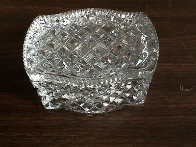 Small  Antique Crystal Box