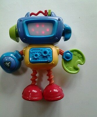 Early Learning Centre robot with lights and sounds
